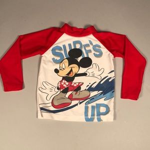 Disney Surf's Up Mickey Mouse shirt